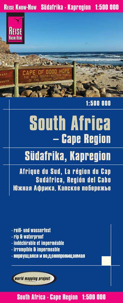 Südafrika Karte Pdf.Landkarte Südafrika Kapregion 1 500 000