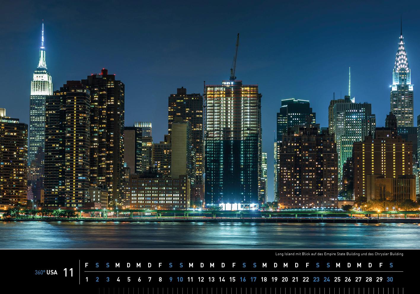 360 usa new york kalender 2019 360 medien shop