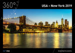 360° USA - New York Kalender 2019