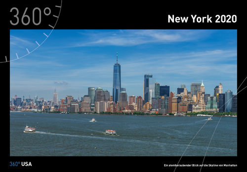 360° USA - New York Kalender 2020