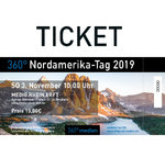 360° Nordamerika-Tag am 03.11.2019 TICKET