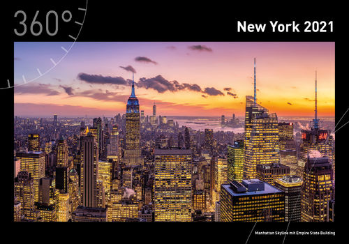 360° New York Premiumkalender 2021