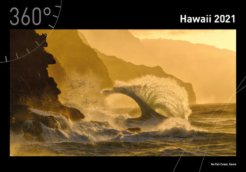 360° Hawaii Premiumkalender 2021